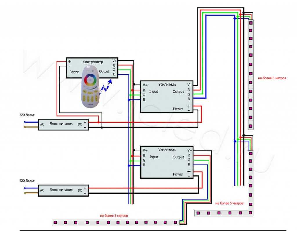 схема подключения электродвигателя вятки