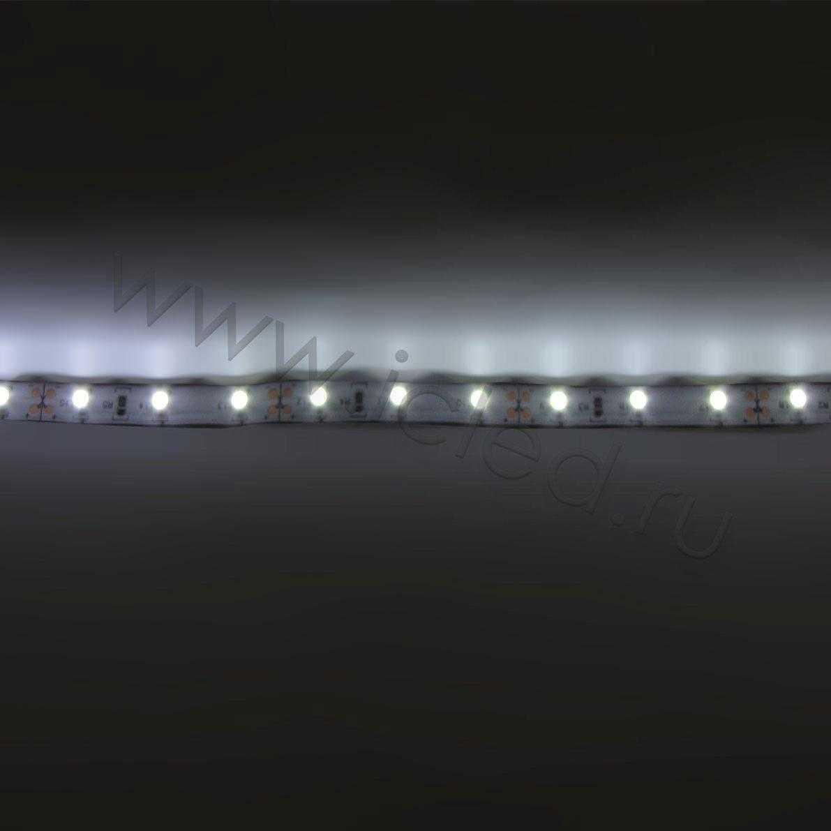 Светодиодная лента Class B, 3528, 60 led/m, White, 12V, IP33.