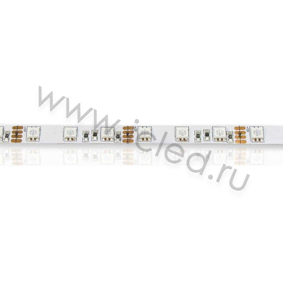 Светодиодная лента Class B, 5050, 60 led/m, RGB, 12V, IP33.