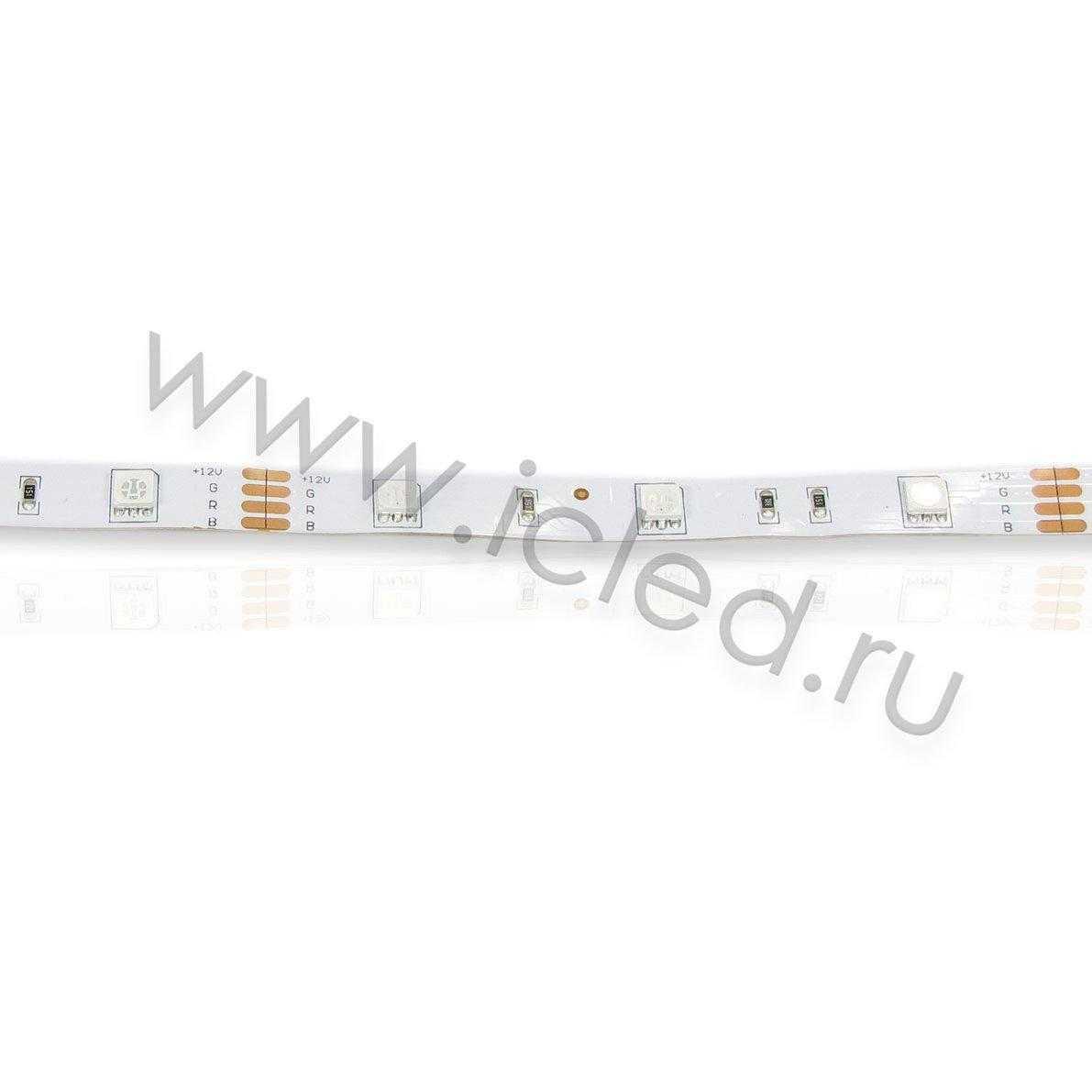 Светодиодная лента Class B, 5050, 30 led/m, RGB, 12V, IP33