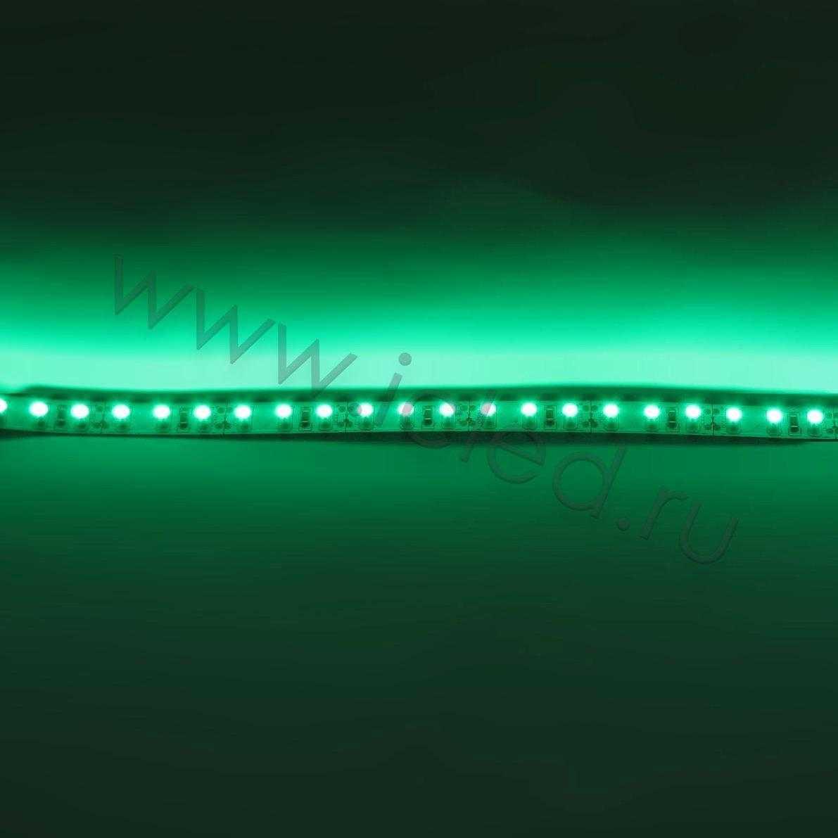 Светодиодная лента Class B, 3528, 120 led/m, Green, 12V, IP33