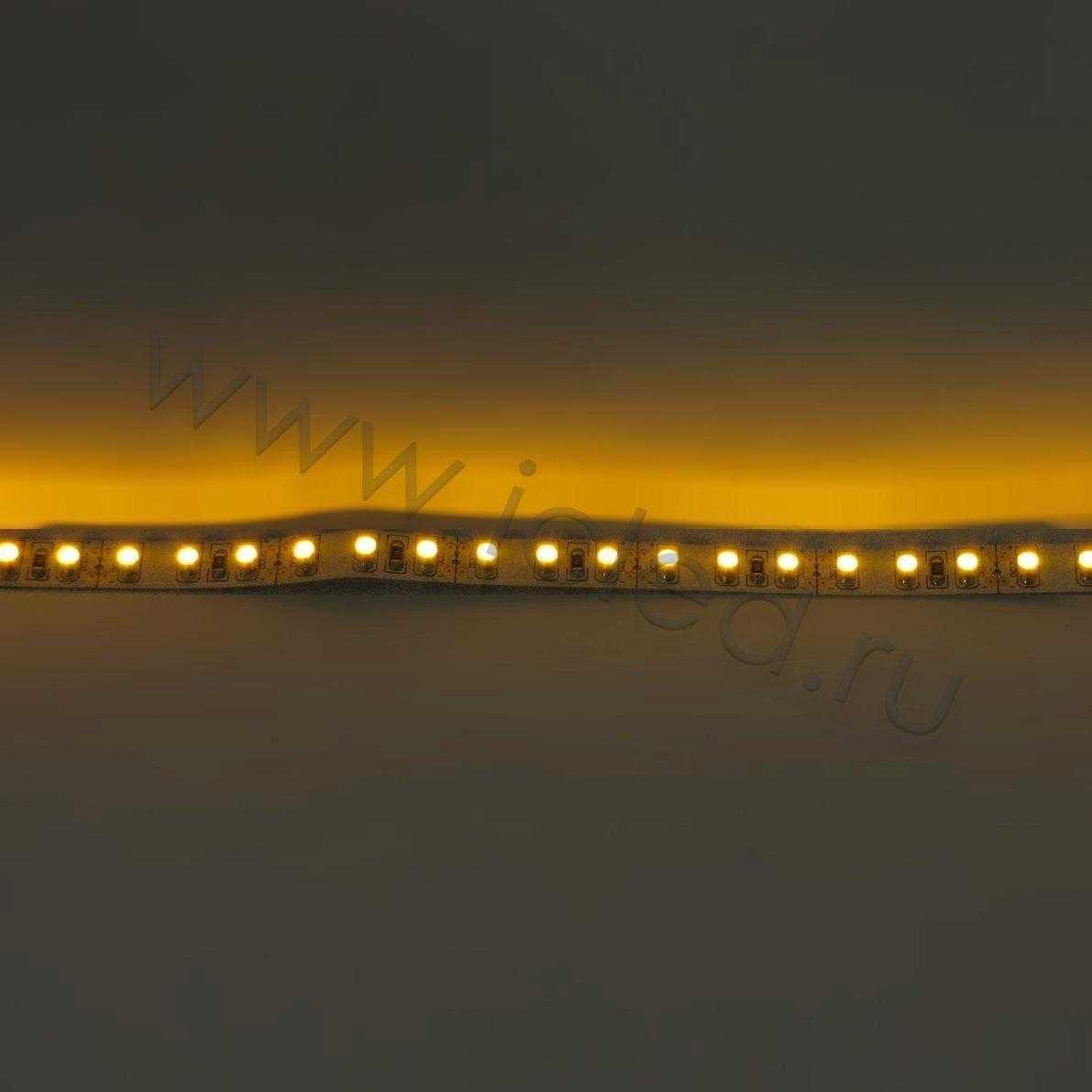 Светодиодная лента Class B, 3528, 120 led/m, Yellow, 12V, IP33