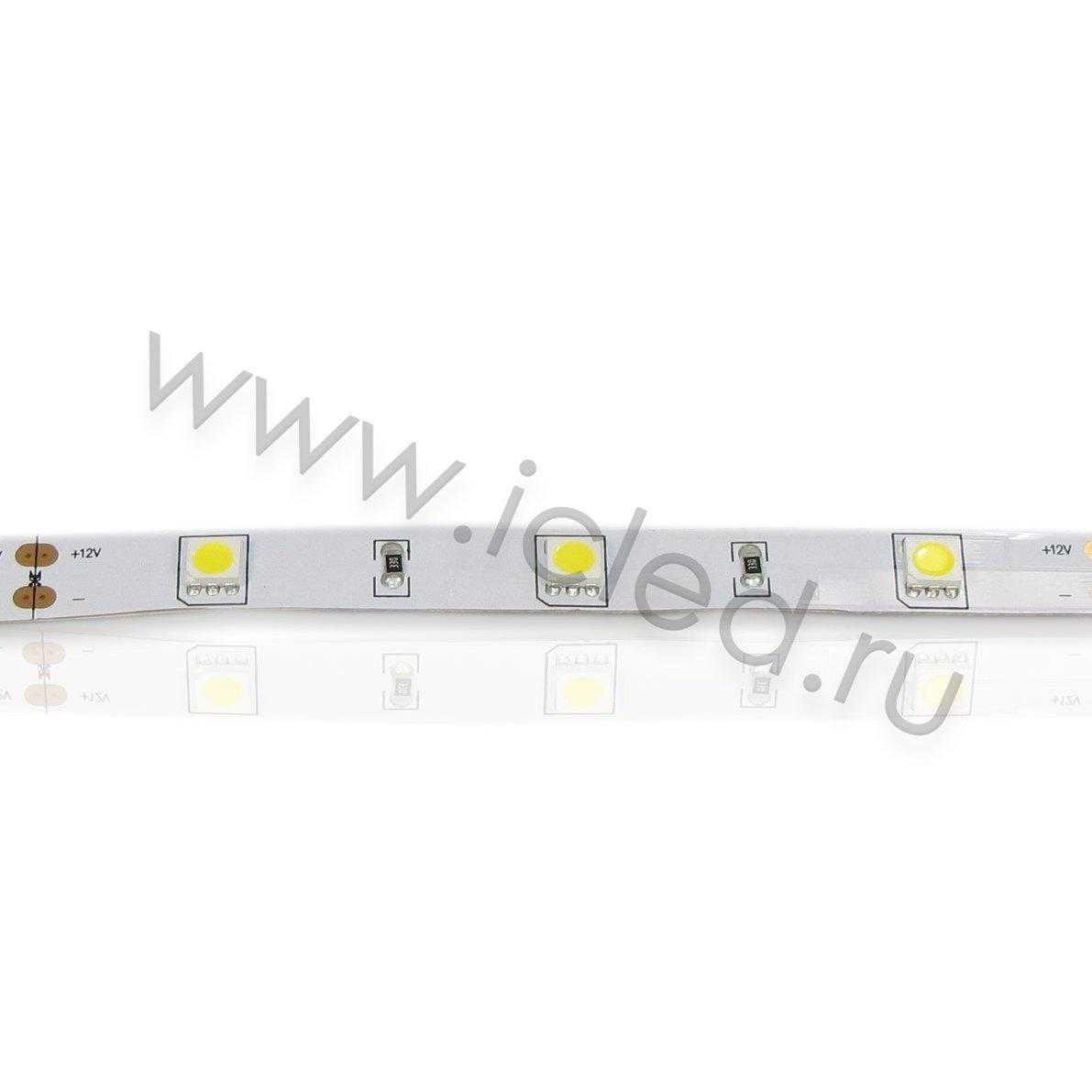 Светодиодная лента Class B, 5050, 30 led/m, Warm White, 12V, IP33