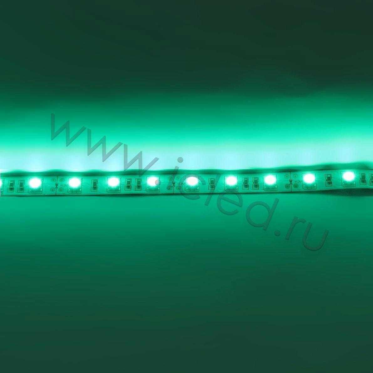 Светодиодная лента Class B, 5050, 60led/m, Green, 12V, IP33