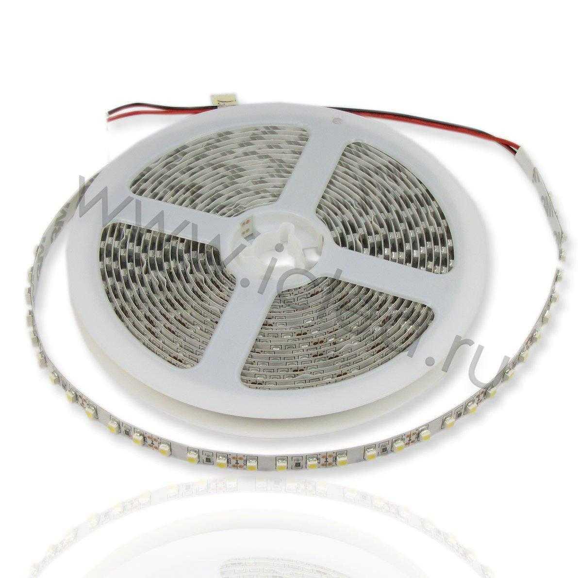 Светодиодная лента Class B, 3528, 120 led/m, Warm White, 12V, IP33