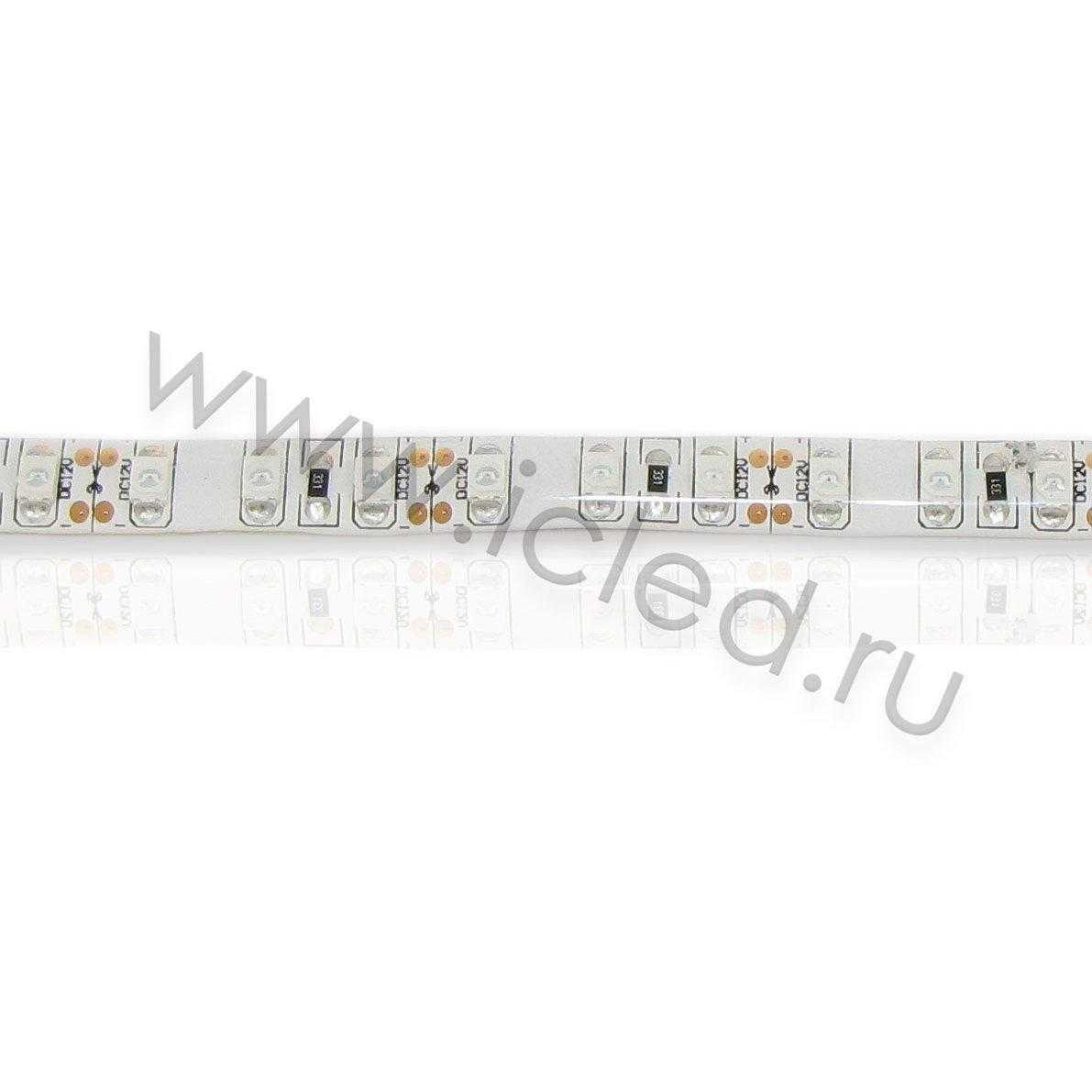 Светодиодная лента Class B, 3528, 120 led/m, Yellow, 12V, IP65