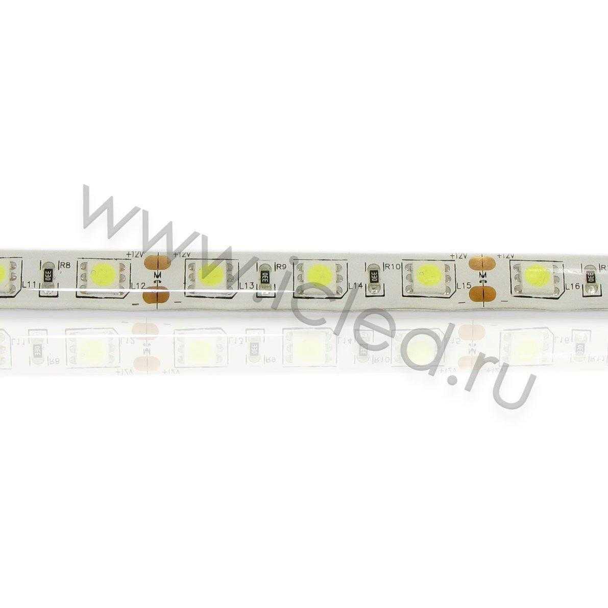 Светодиодная лента Class B, 5050, 60led/m, White, 12V, IP65