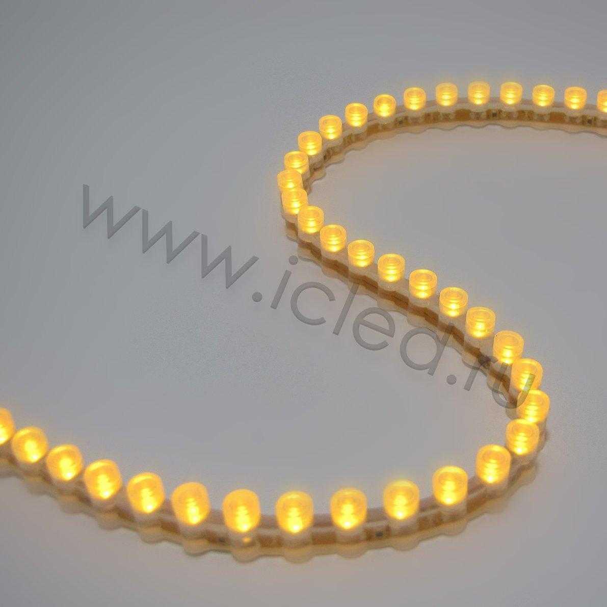 Светодиодная лента PVC Class B, 96led/m, Yellow, 12V, IP65
