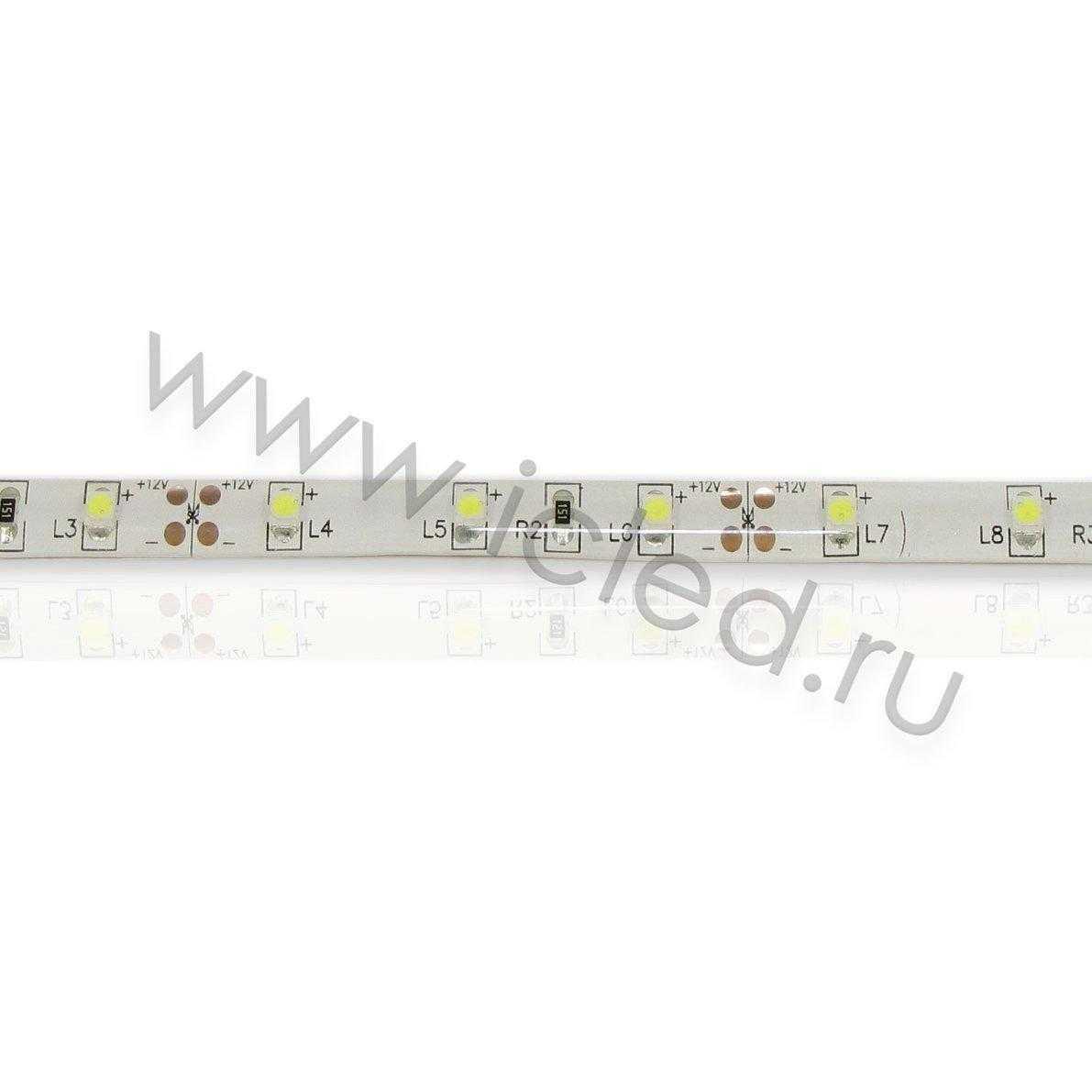 Светодиодная лента Class B, 3528, 60 led/m, White, 12V, IP65
