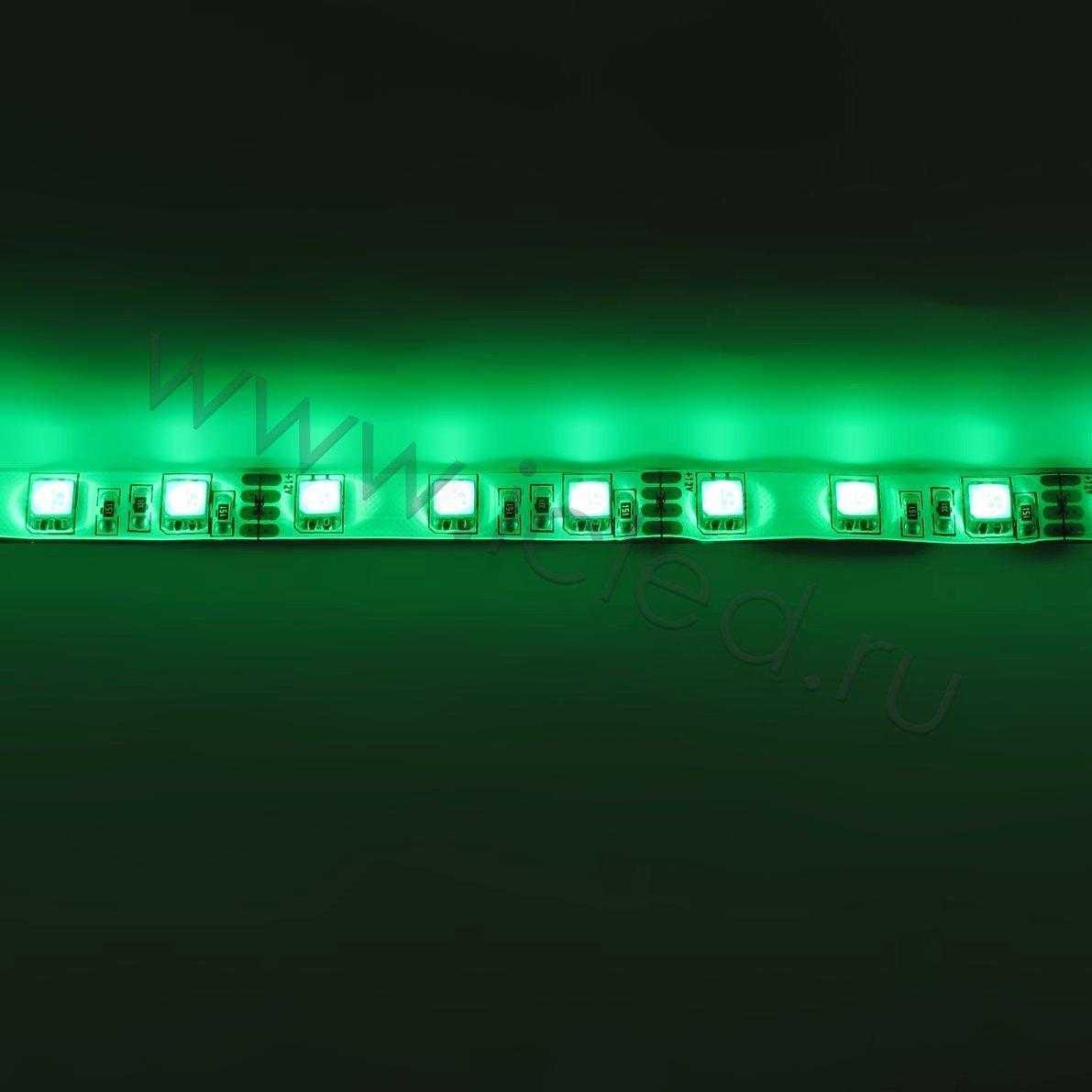 Светодиодная лента Class B, 5050, 60 led/m, RGB, 12V, IP65