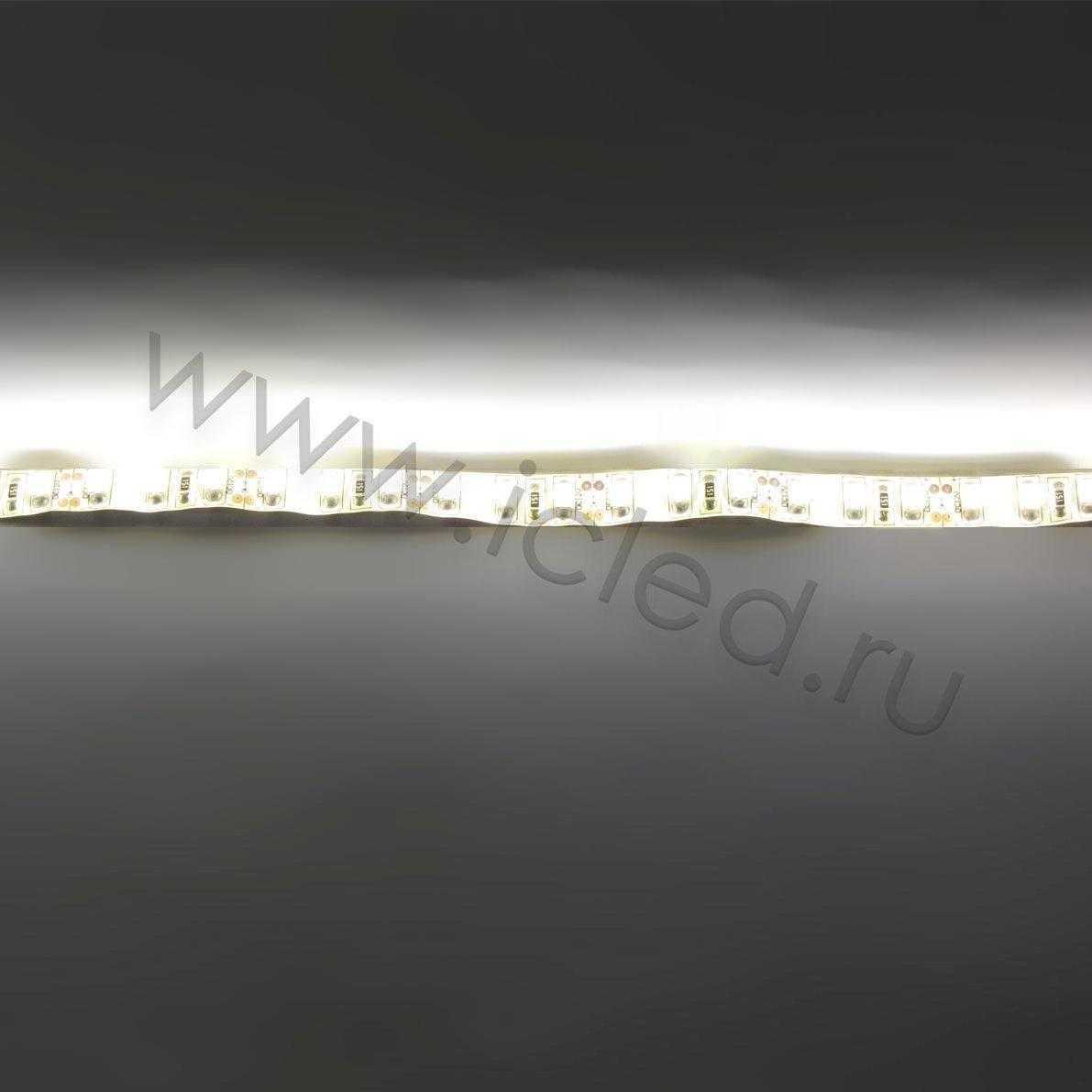 Светодиодная лента Class B, 3528, 120 led/m, Warm White, 12V, IP65