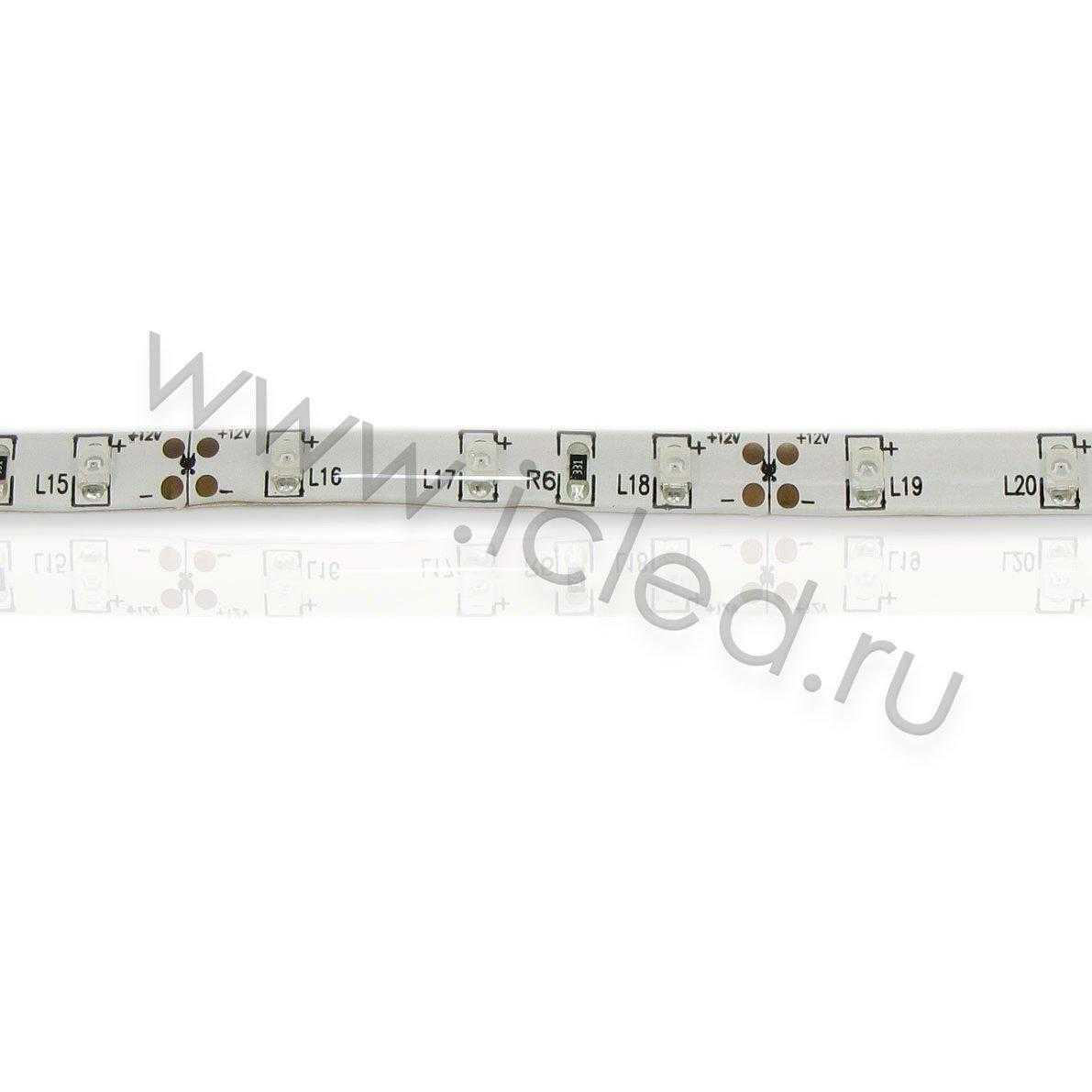 Светодиодная лента Class B, 3528, 60 led/m, Yellow, 12V, IP65