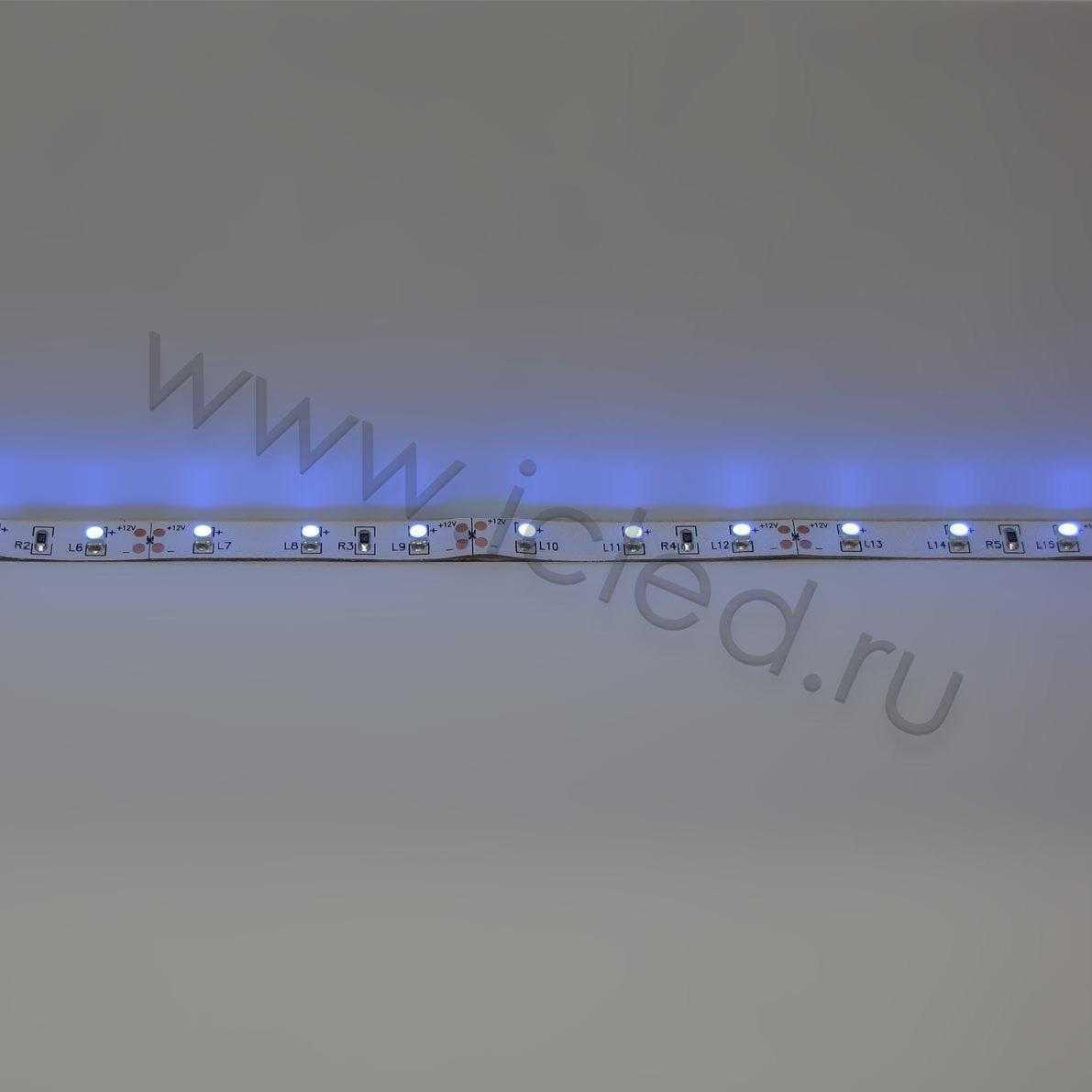 Светодиодная лента Class B, 3528, 60 led/m, UV, 12V, IP33