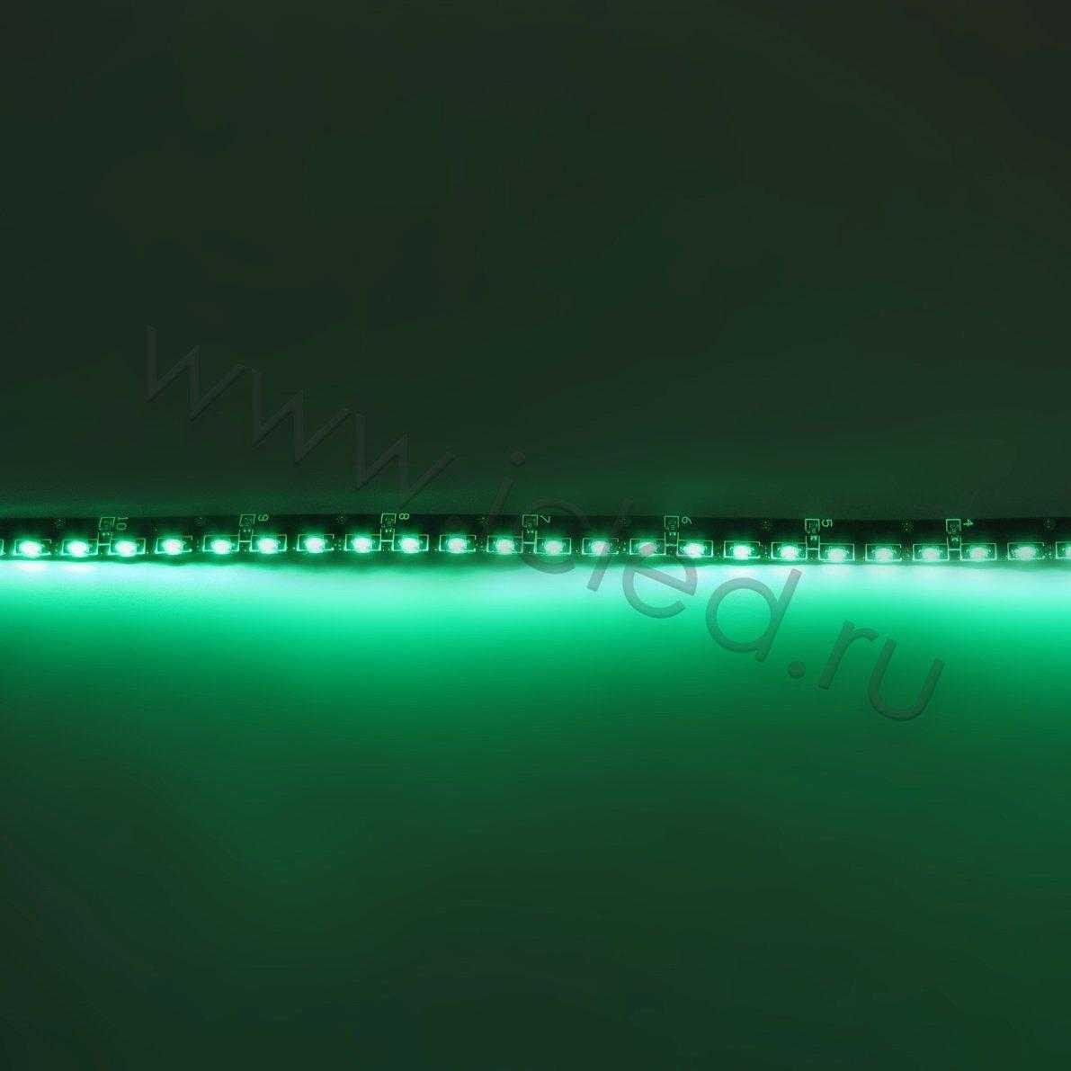 Светодиодная лента Class B, 335, 120 led/m, Green,12V, IP65