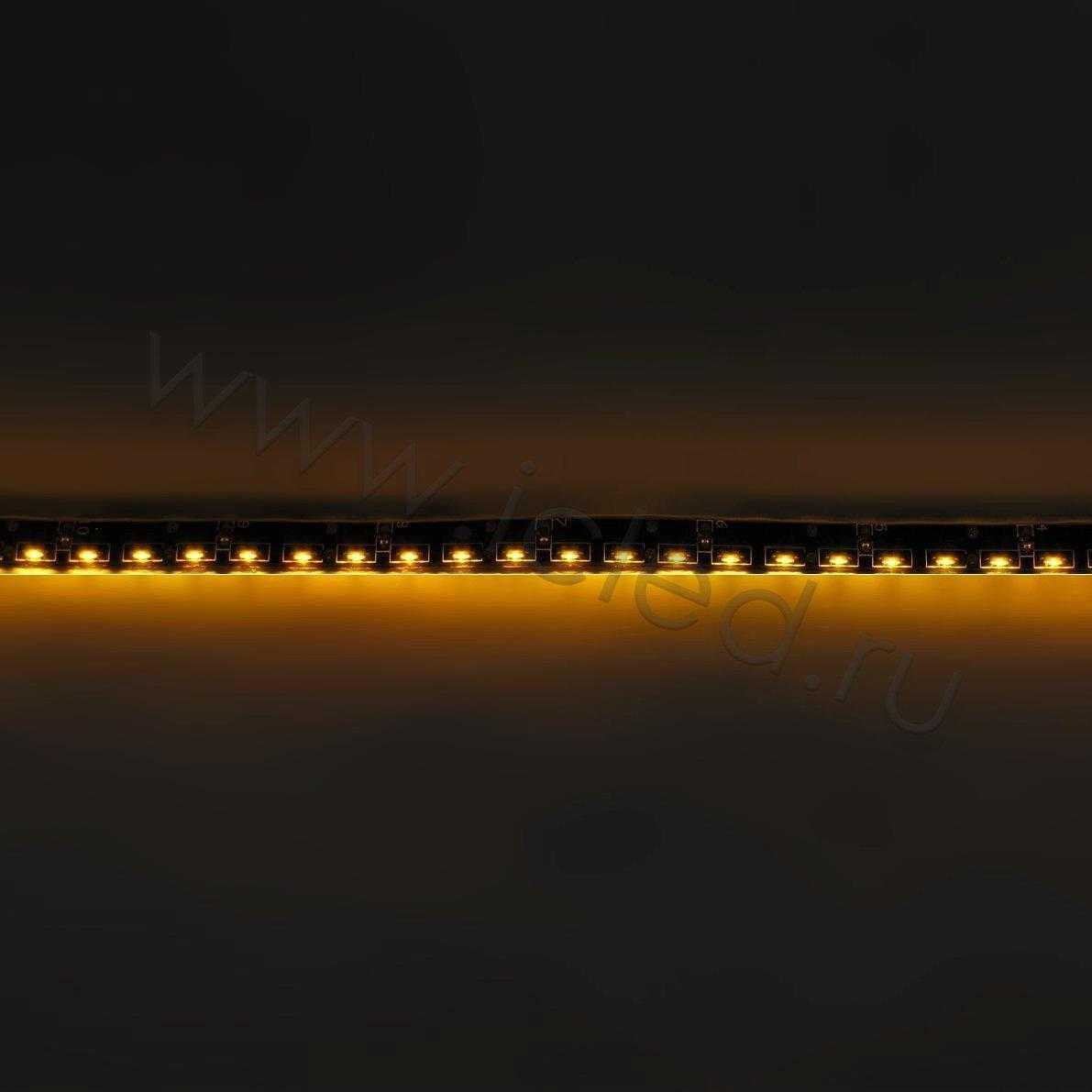 Светодиодная лента Class B, 335, 120 led/m, Yellow,12V, IP65