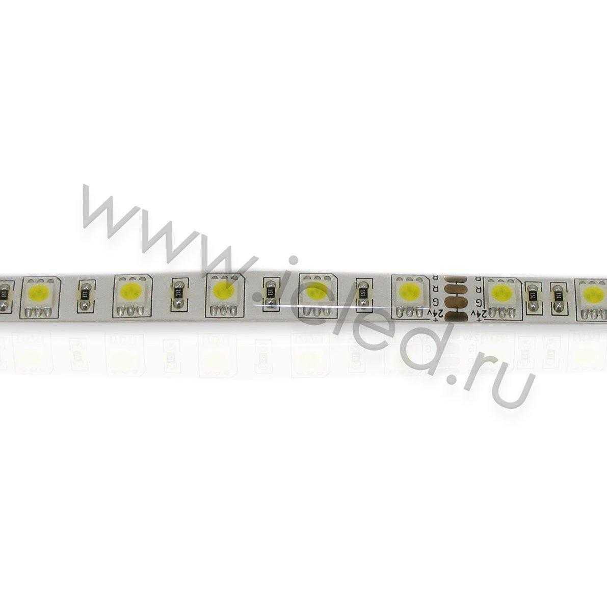 Светодиодная лента Class B, 5050, 60led/m, Warm White, 24V, IP65