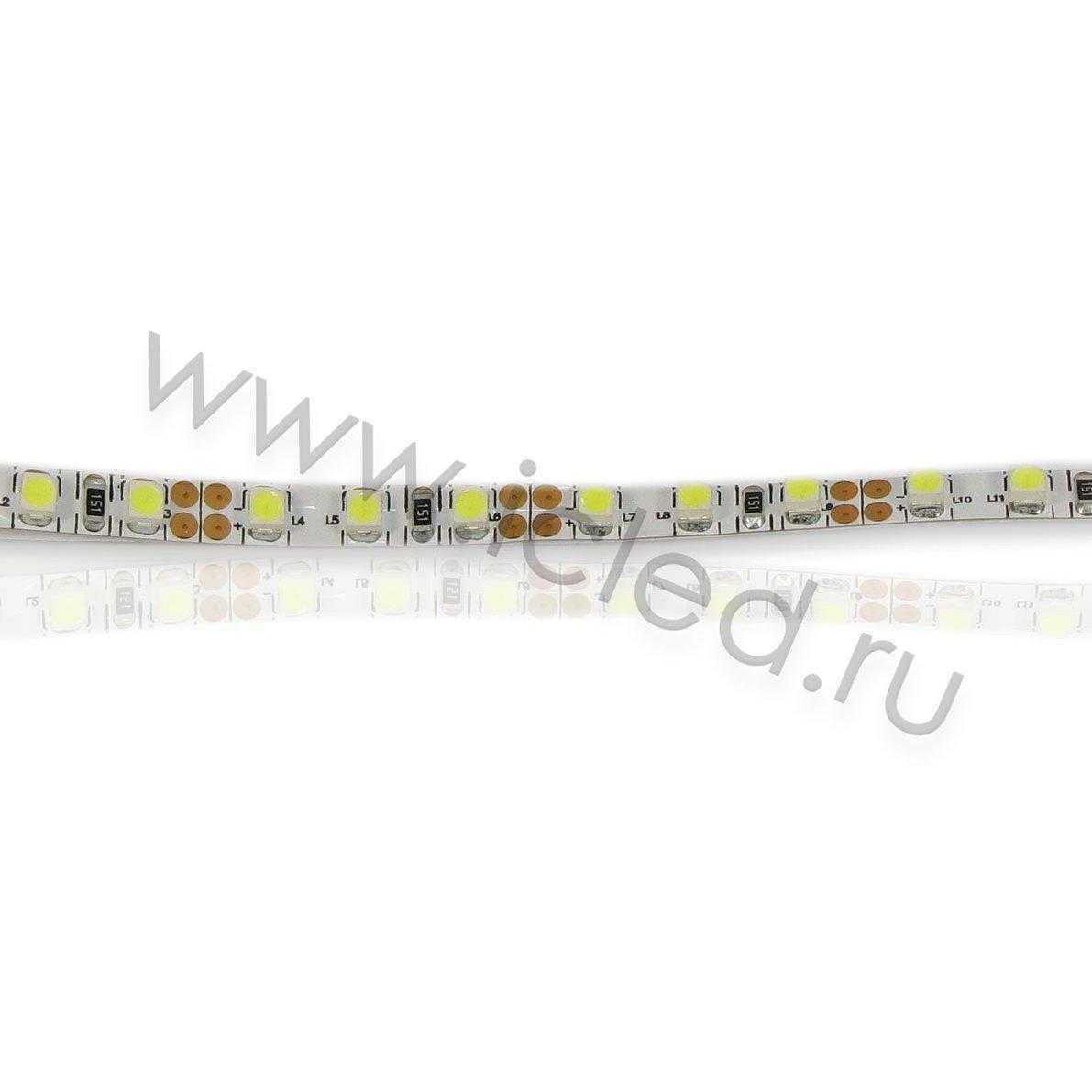 Светодиодная лента Class B, 3528, 120 led/m, White, 5mm,12V, IP33
