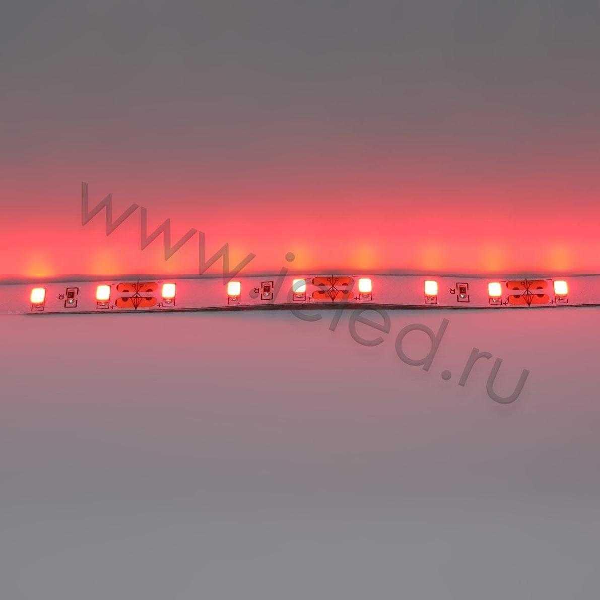 Светодиодная лента Class B, 5730, 60led/m, Red,12V, IP33