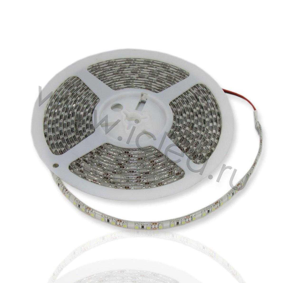 Светодиодная лента Class High, 3528, 120 led/m, White, 12V, IP65