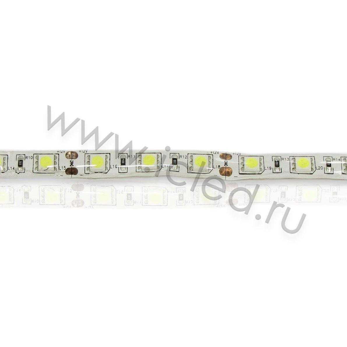 Светодиодная лента Class A, 5050, 60led/m, White, 12V, IP65