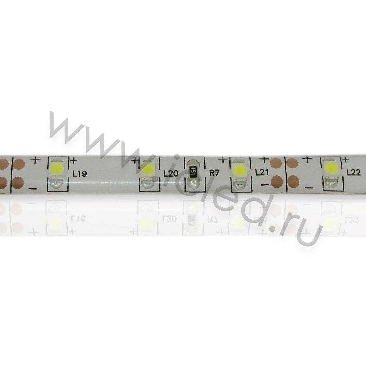 Светодиодная лента Class A, 3528, 60led/m, White, 12V, IP65