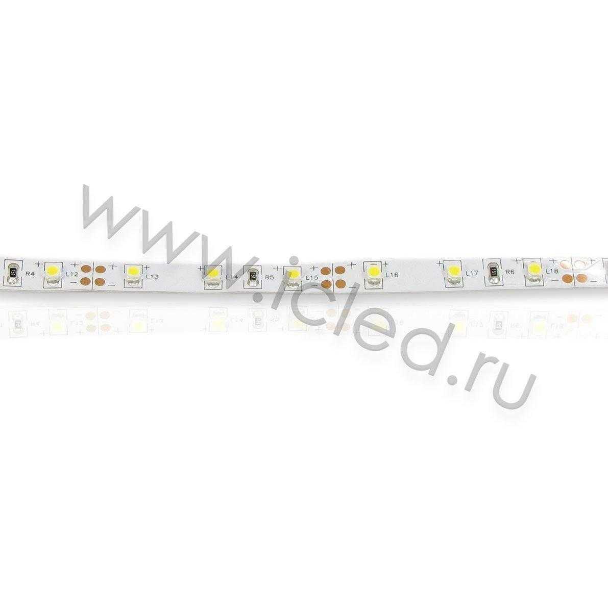 Светодиодная лента Class High, 3528, 60 led/m, Warm White,12V, IP33