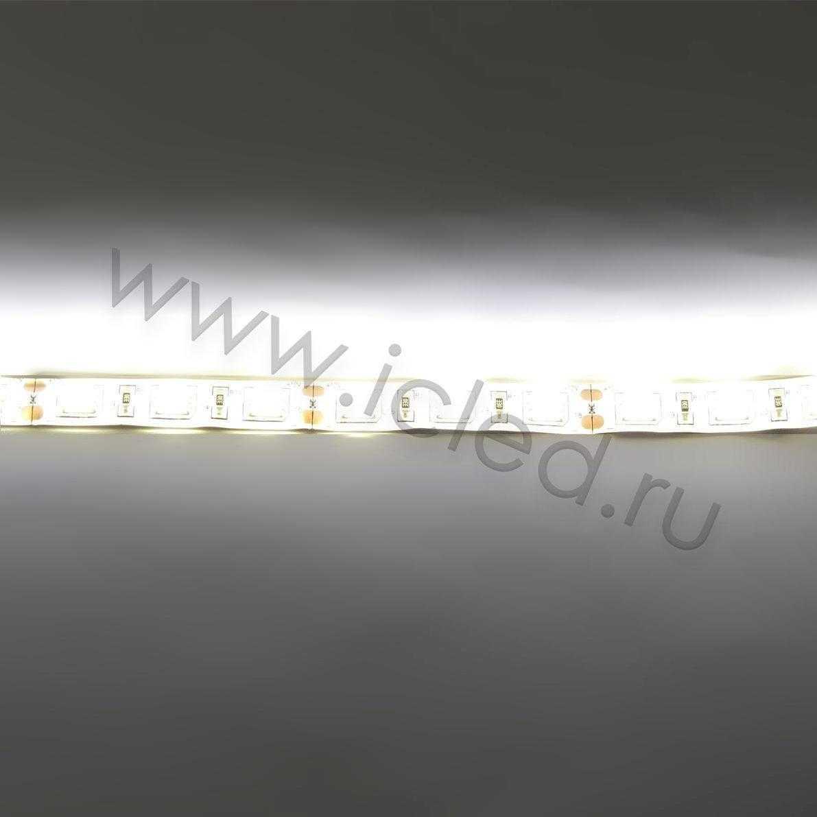 Светодиодная лента Class A, 5050, 60led/m, Warm White, 12V, IP65