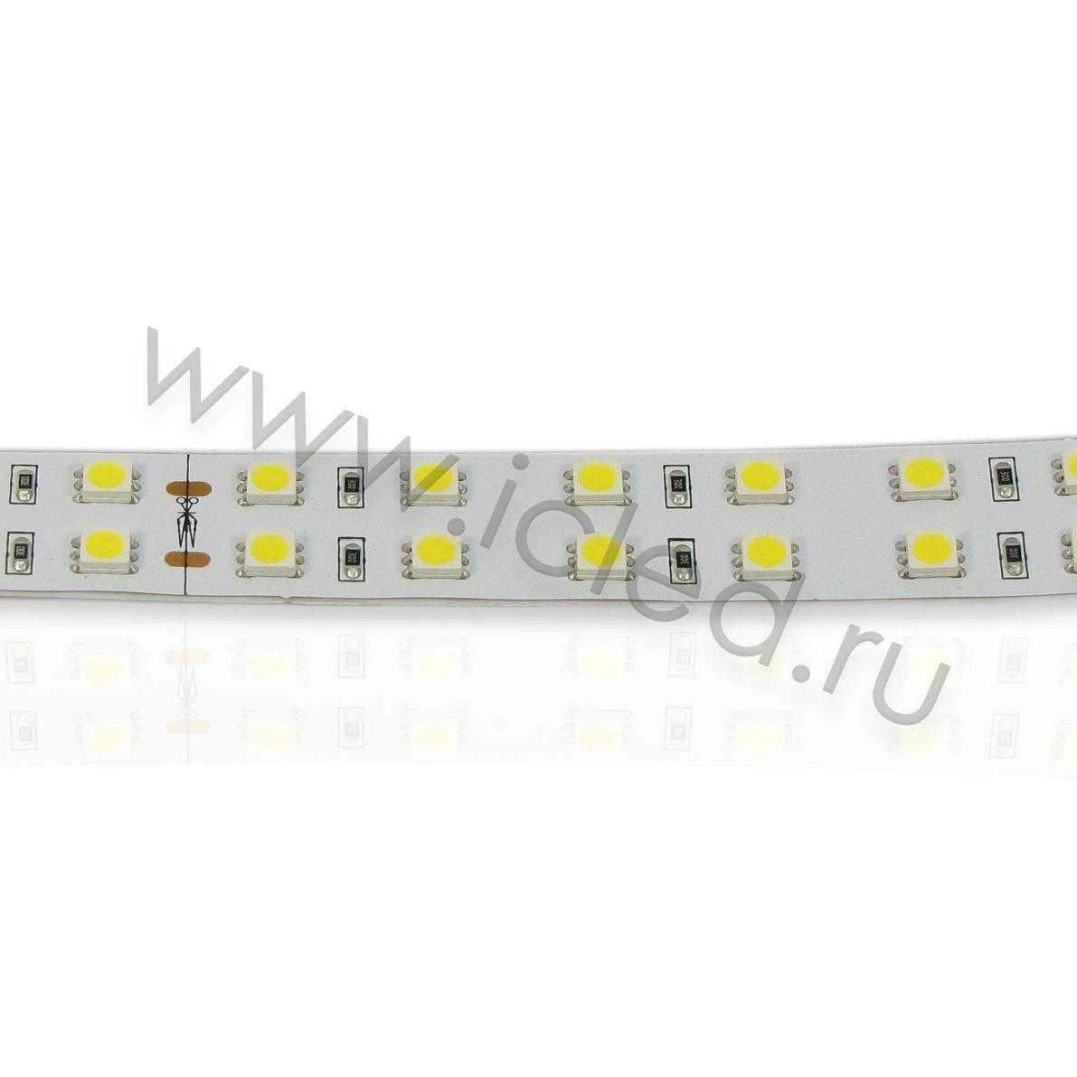 Светодиодная лента Class B, 5050, 120 led/m, Warm White, 24V, IP33