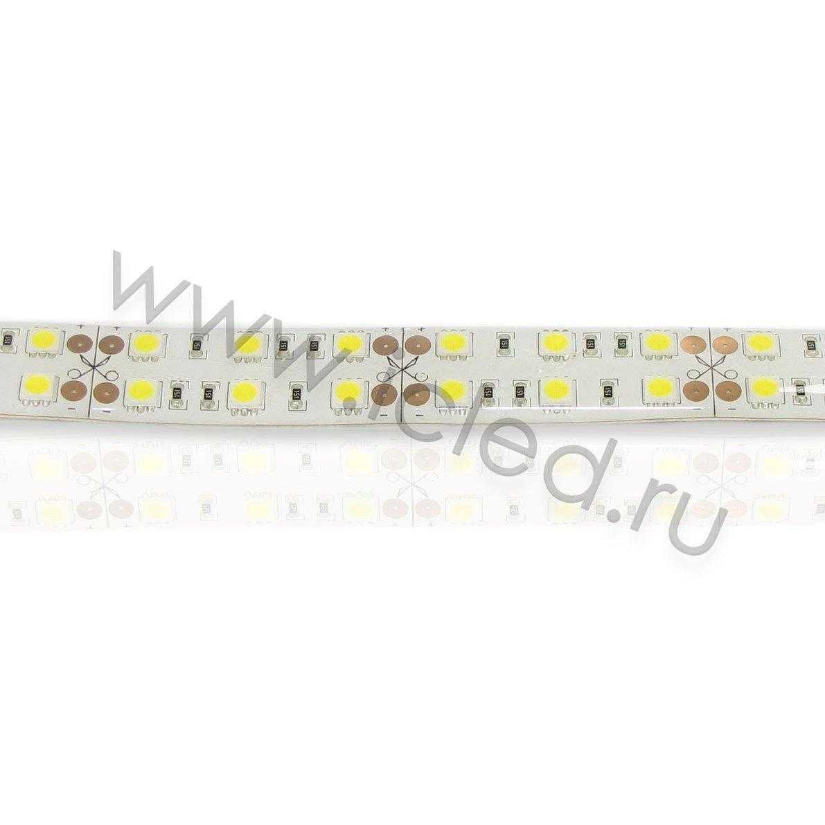 Светодиодная лента Class B, 5050, 120 led/m, Warm White, 24V, IP65