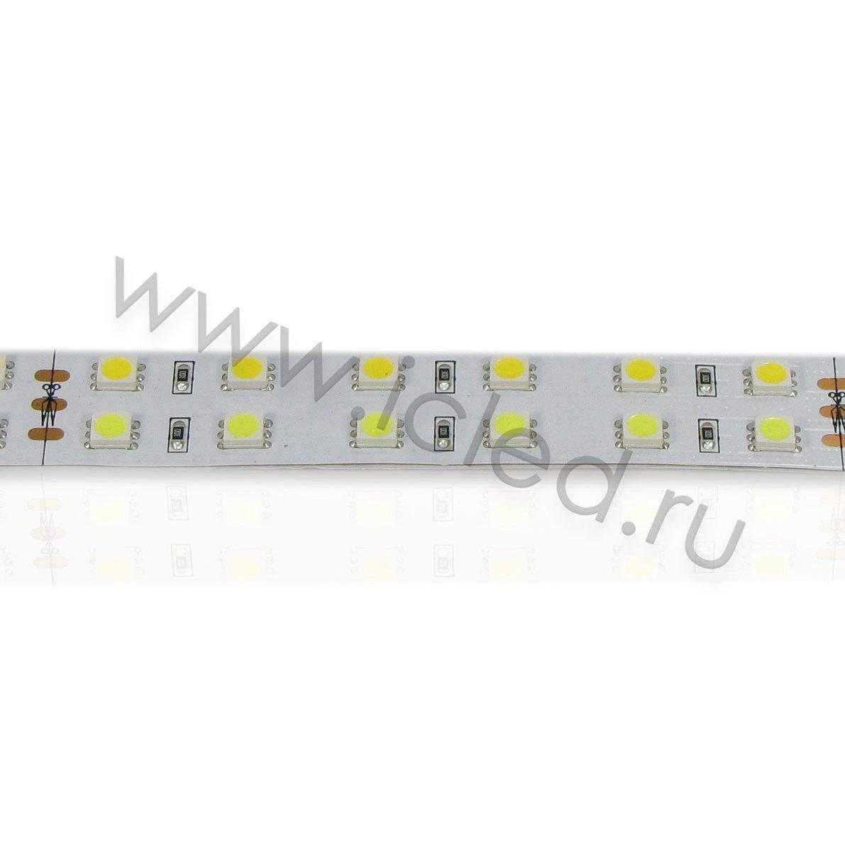 Светодиодная лента Class B, 5050, 120 led/m, MIX, 24V, IP33