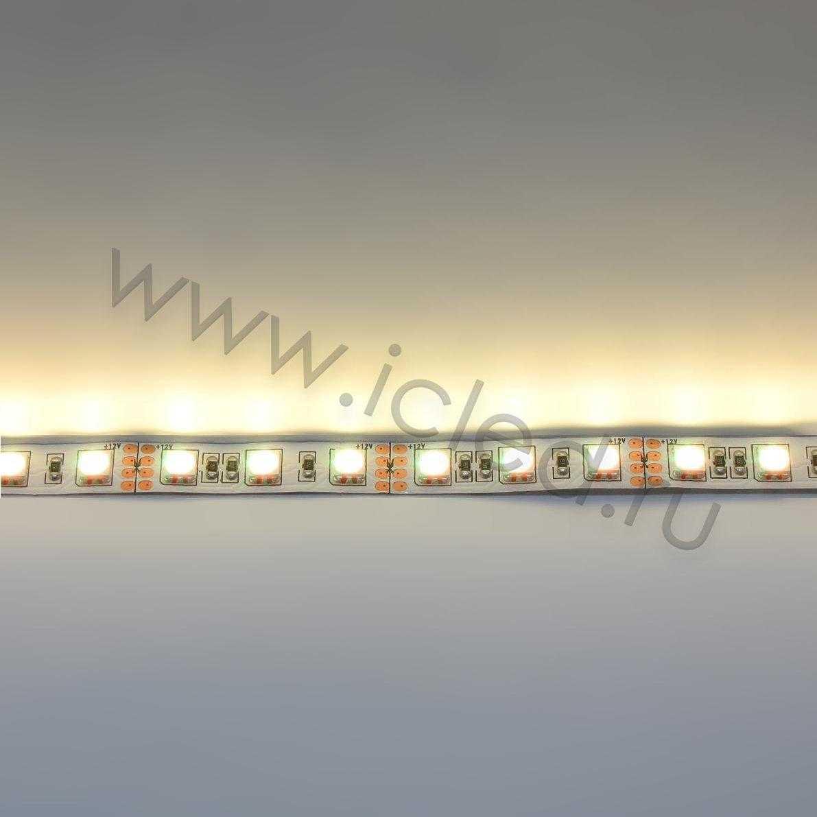 Светодиодная лента Class High, 5050, 72 led/m, RGB Class High, 12V, IP33