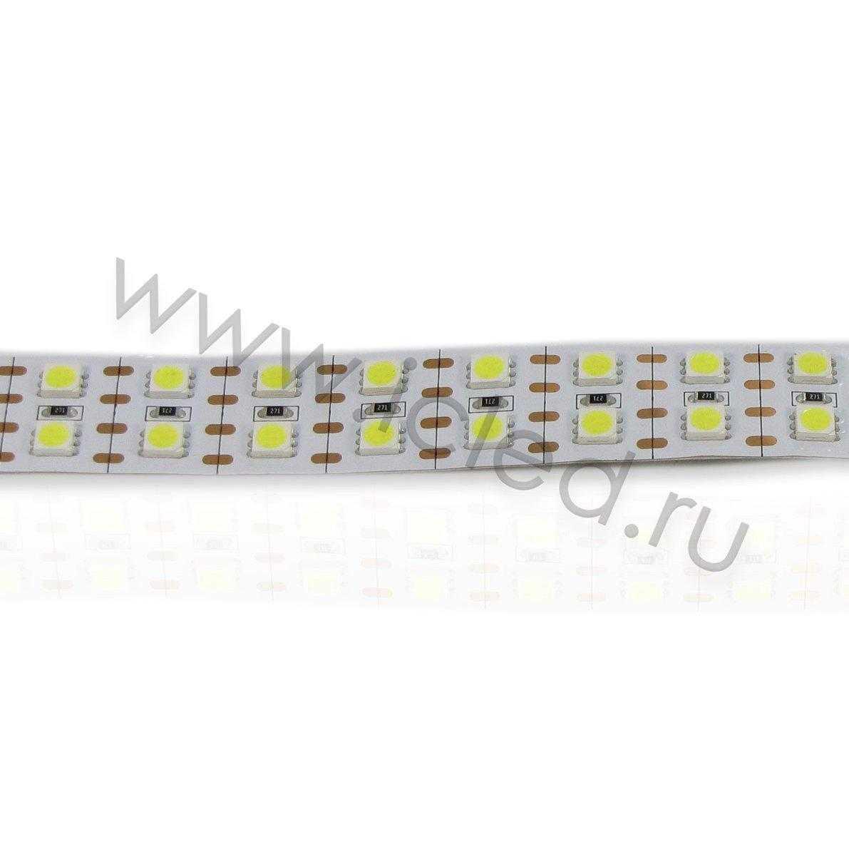 Светодиодная лента Class B, 5050, 144 led/m, White, 24V, IP33