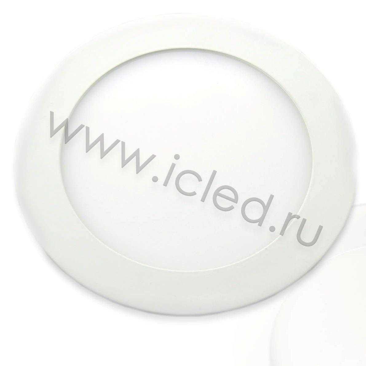 Светодиодный светильник потолочный IC-RW D180мм (11W, Warm White)