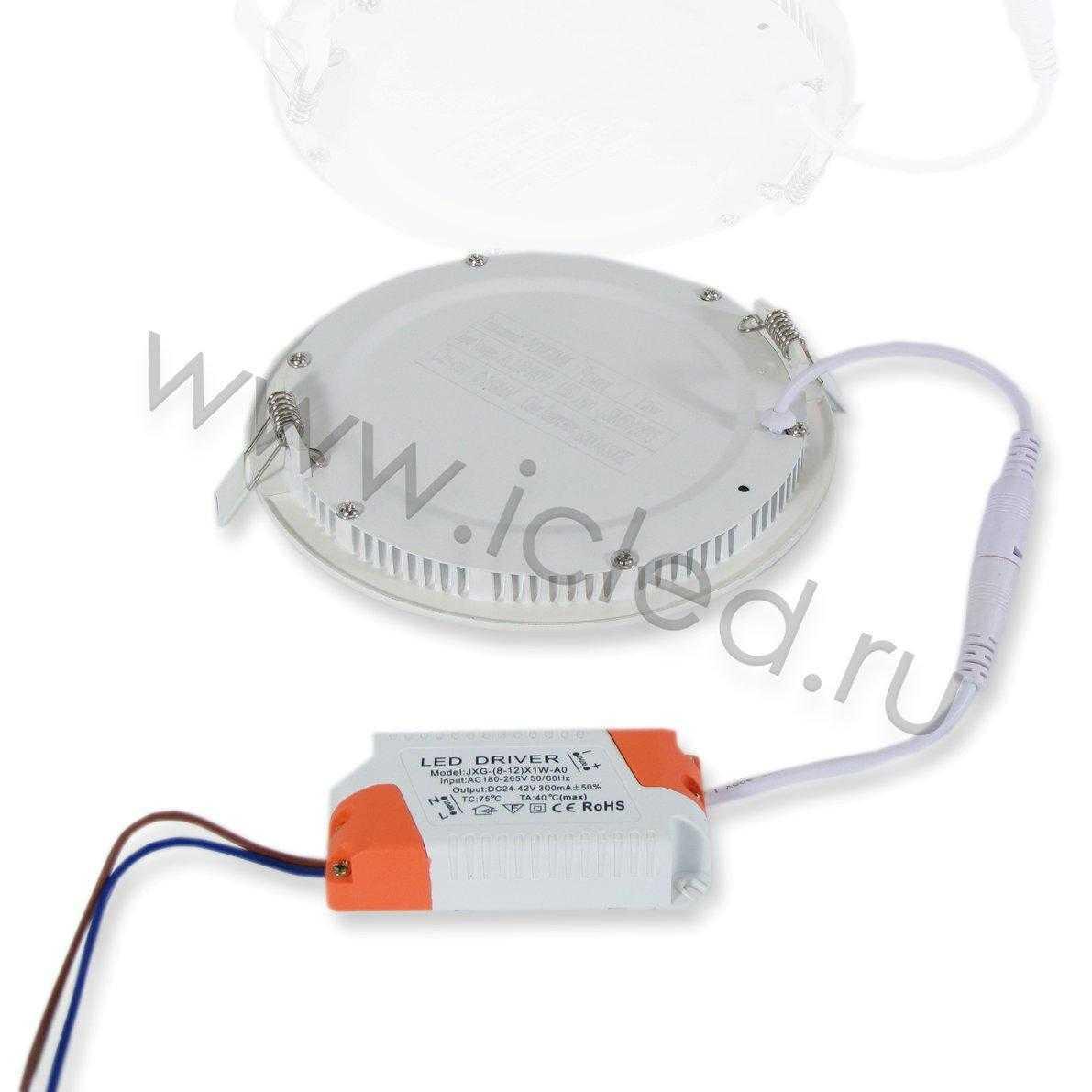 Светодиодный светильник потолочный IC-RW D170 (12W, White)
