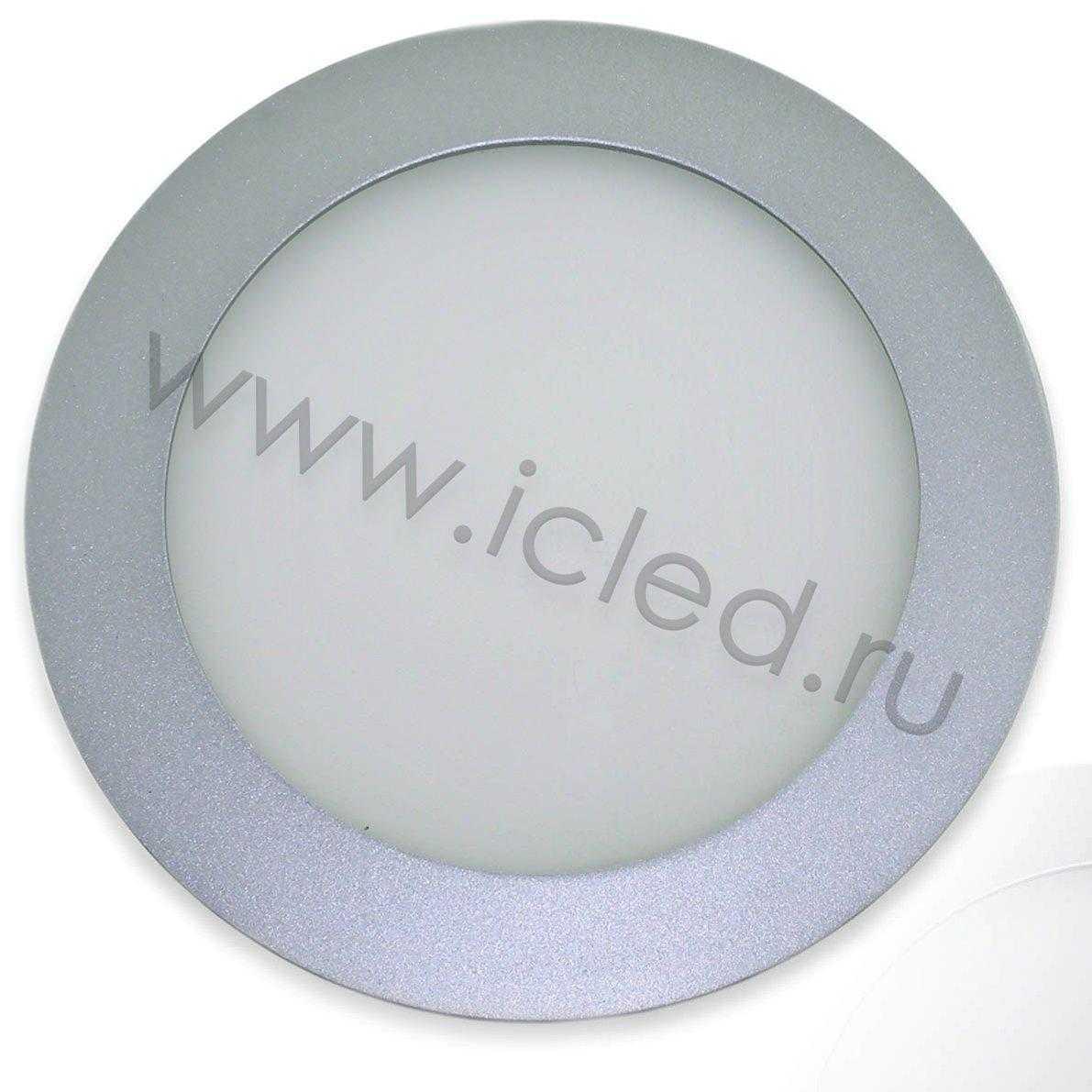 Светодиодный светильник потолочный IC-RS D180мм (11W, Warm White)