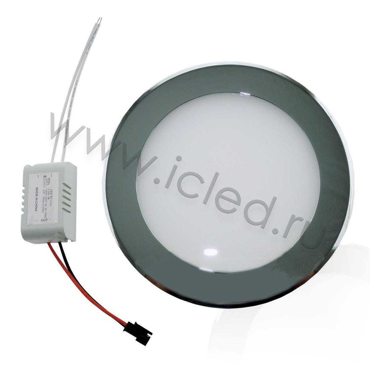 Светодиодный светильник потолочный IC-RCH D180 (8W, White)
