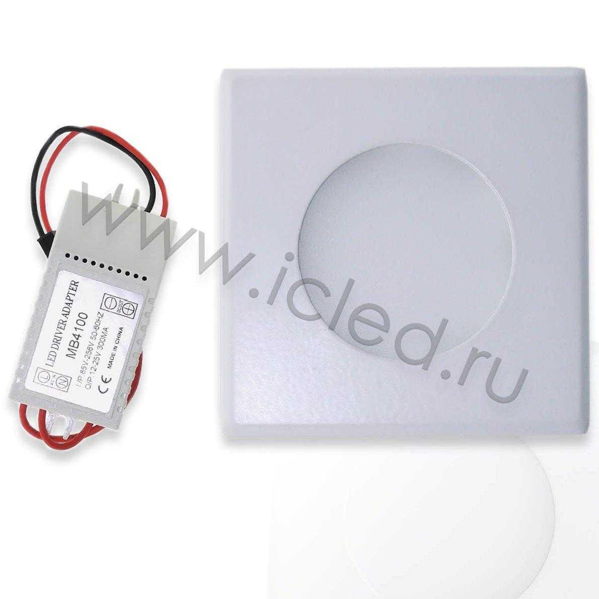 Светодиодный светильник потолочный IC-RSW L100 (6W, White)