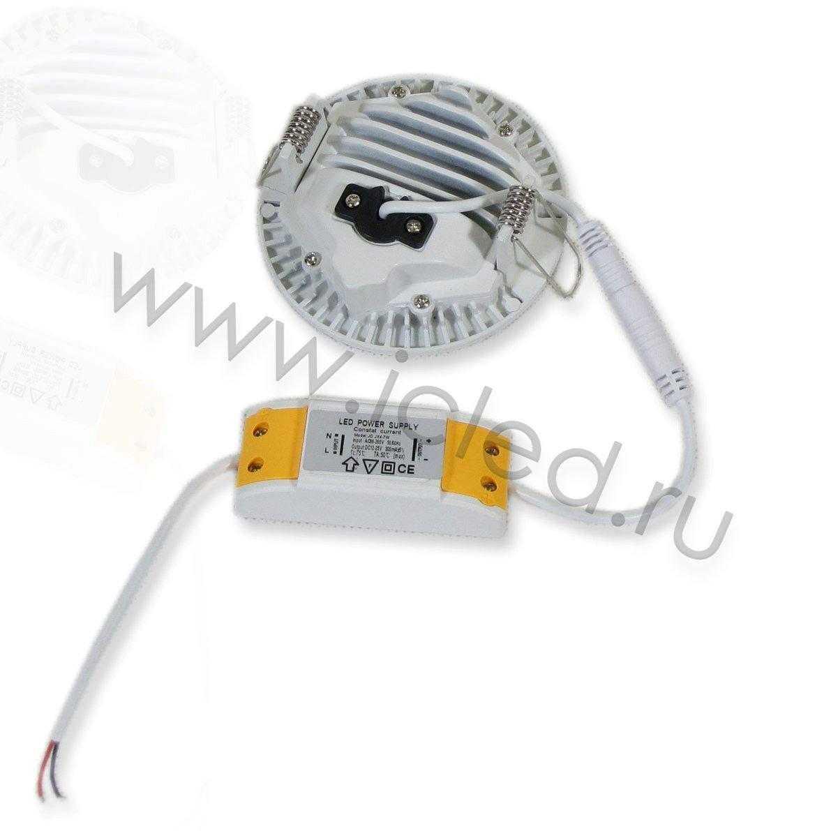 Светодиодный светильник потолочный IC-RW D100 (7W, White)