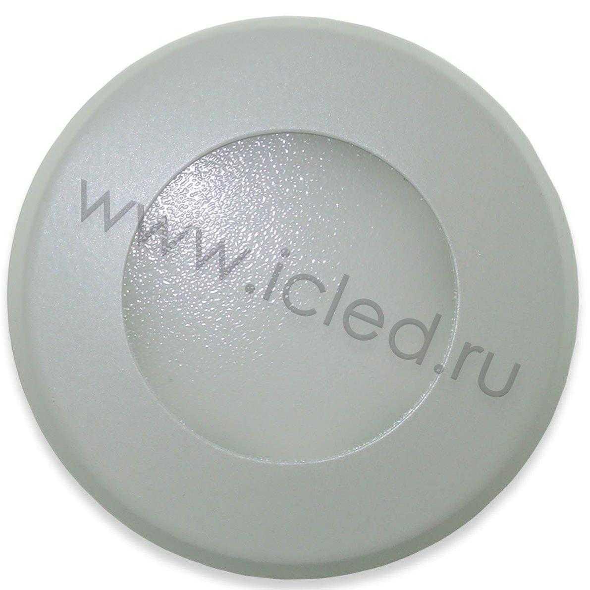 Светодиодный светильник потолочный IC-RW D100 (7W, Warm White)