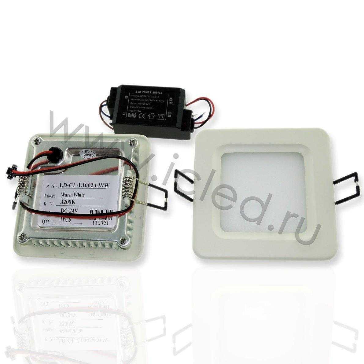Светодиодный светильник потолочный IC-SW L100 (4,8W, White)