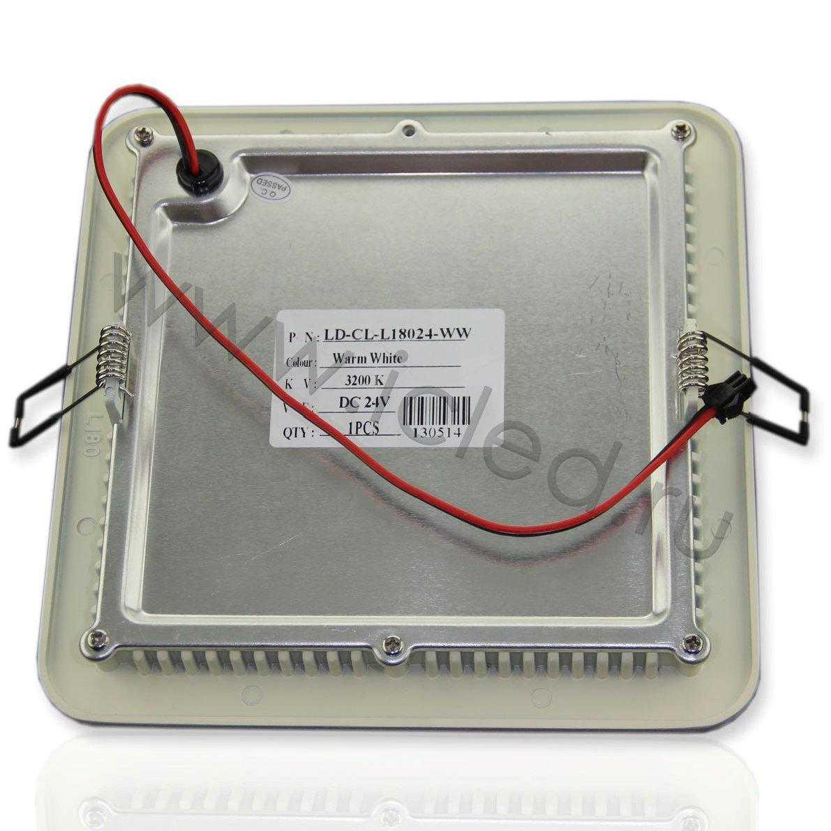 Светодиодный светильник встраиваемый IC-SW L180 (11W, White)