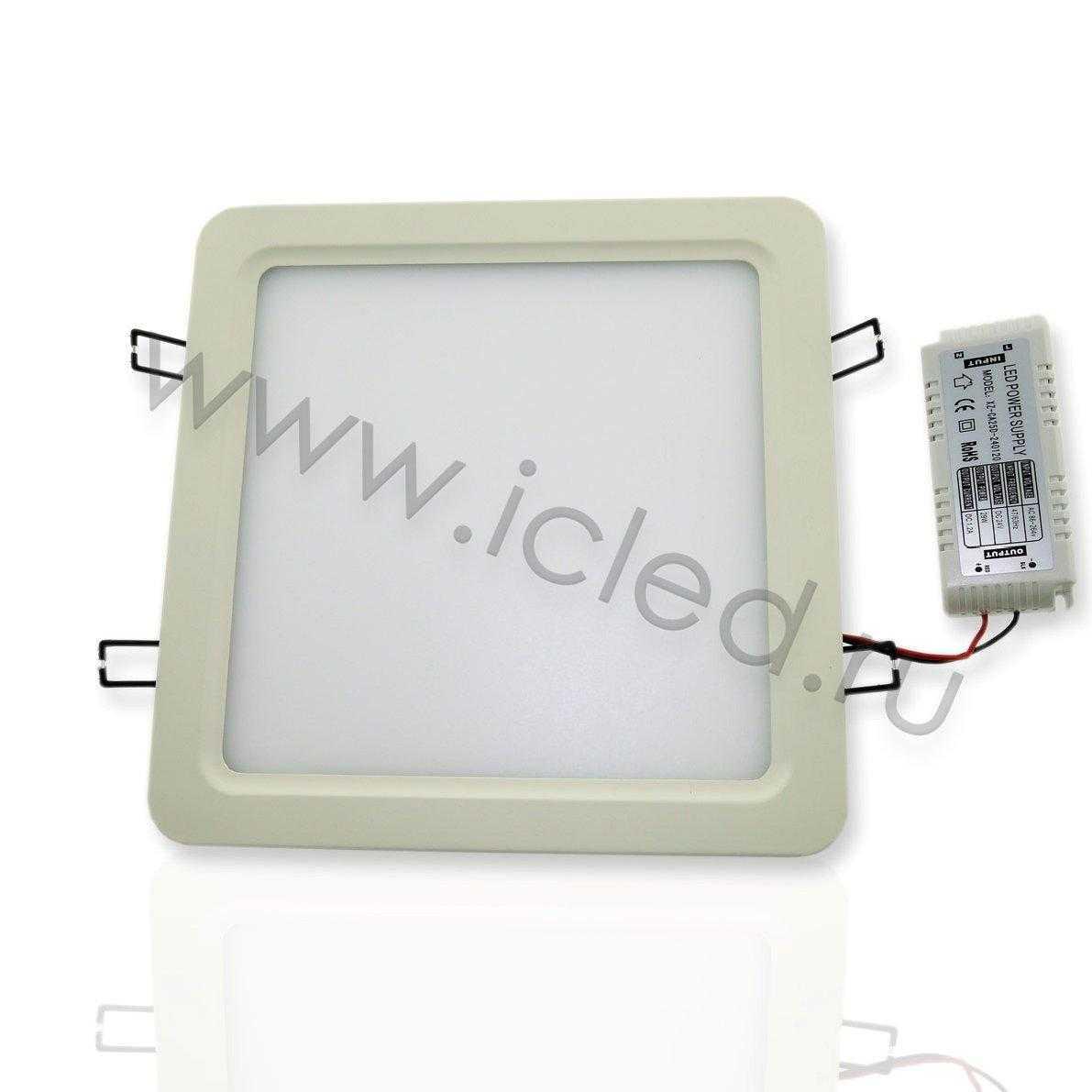 Светодиодный светильник потолочный IC-SW L250 (20W, Warm White)
