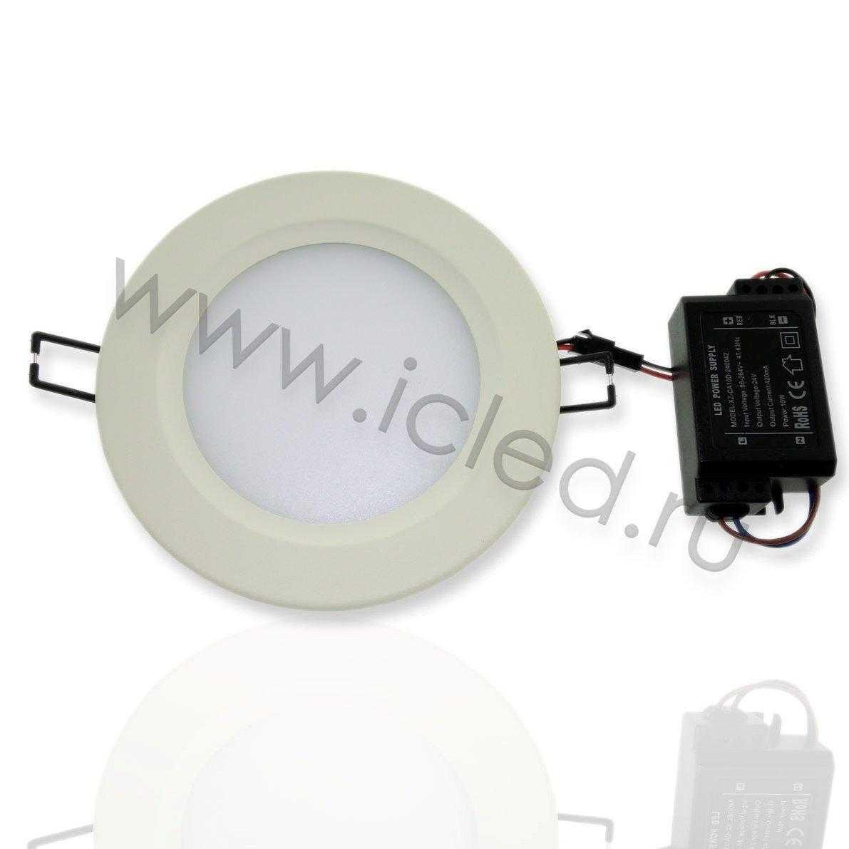Светодиодный светильник потолочный IC-RW D140 (5,5W, White)