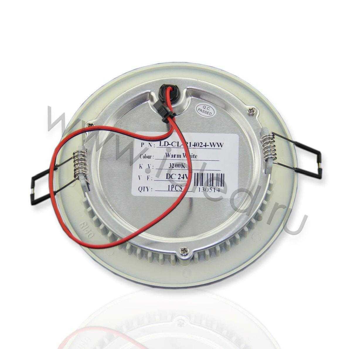 Светодиодный светильник потолочный IC-RW D140 (5,5W, Warm White)