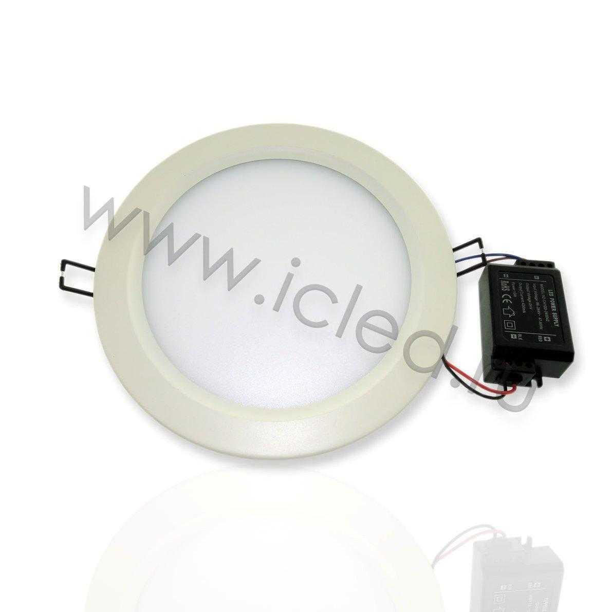 Светодиодный светильник потолочный IC-RW D200 (11W, Warm White)