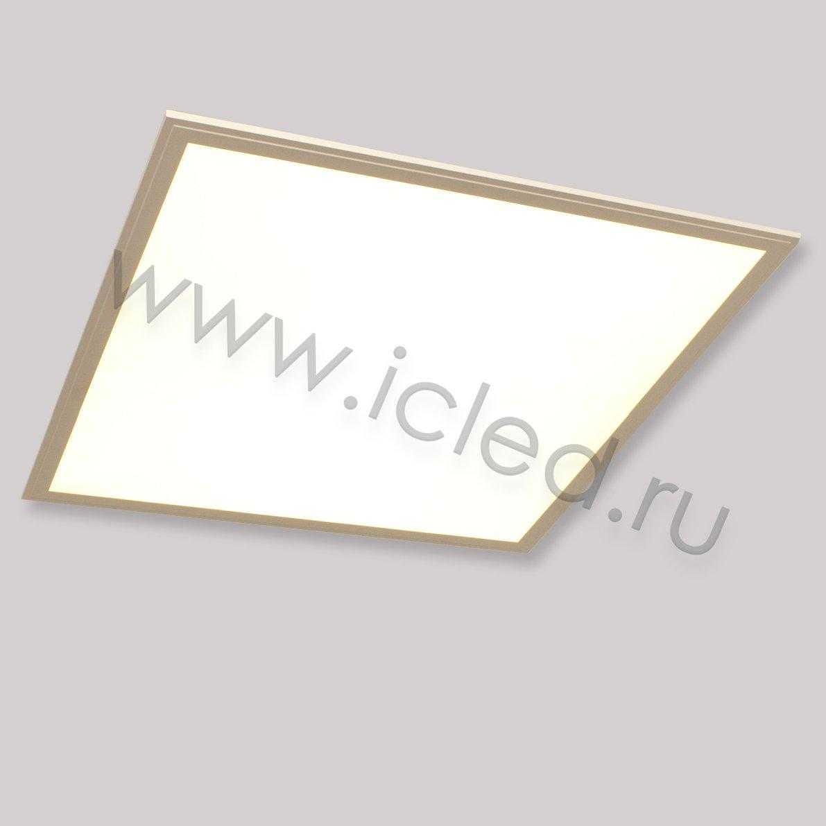 Светодиодная панель S L600 2440Lm (42W, 220V, Warm White)