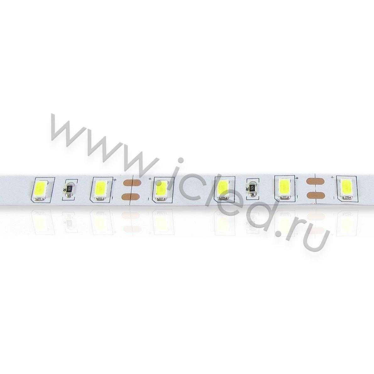 Светодиодная лента Class B, 5630, 60led/m, White, 40Lm,12V, IP33