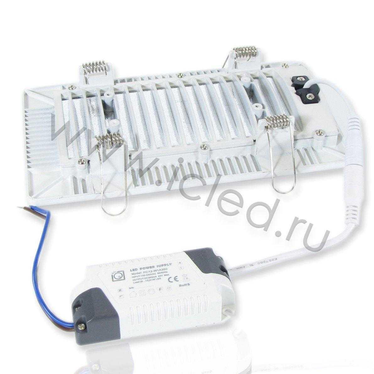 Светодиодная панель SPN-CWA (12W, 220V, White)