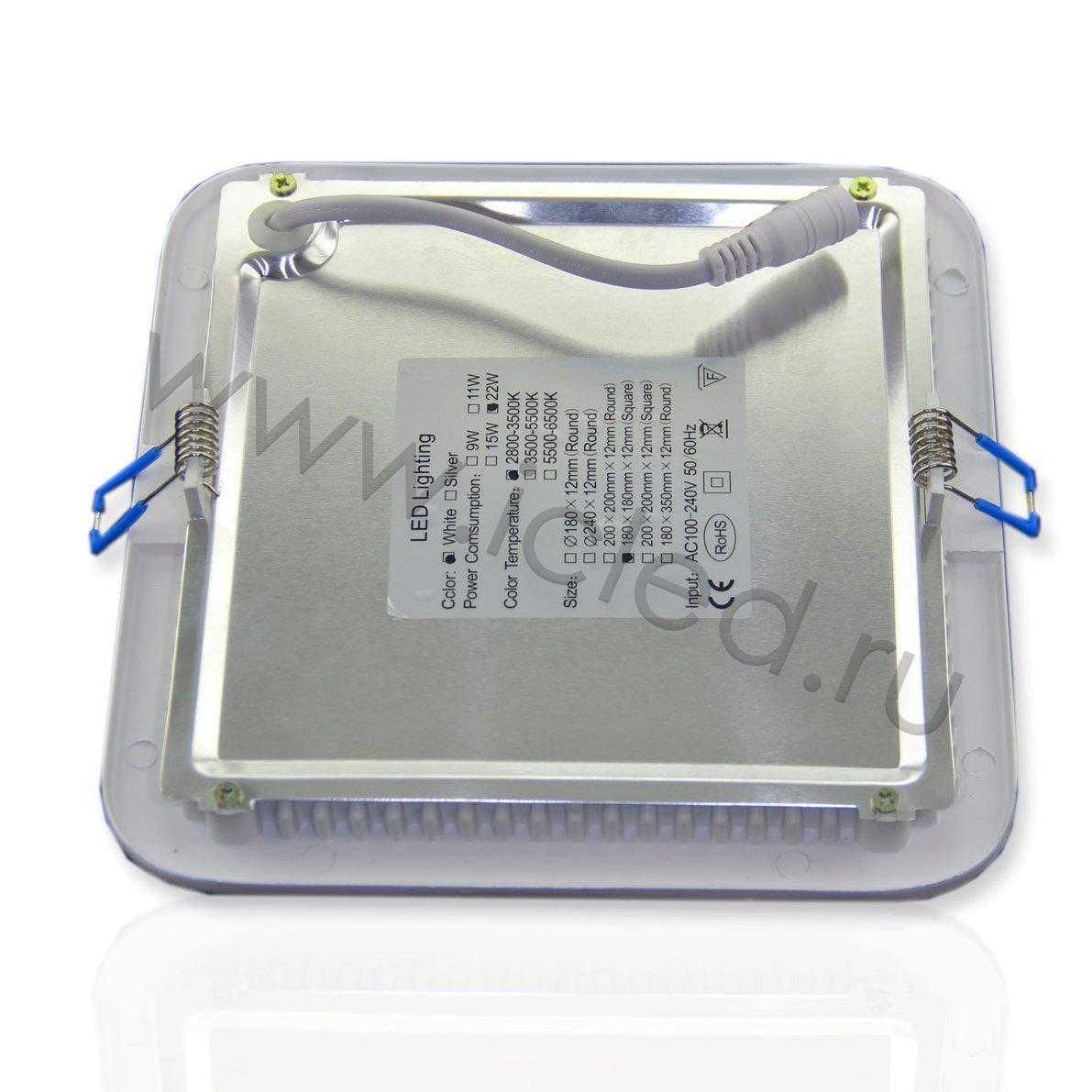Светодиодный светильник потолочный IC-SW L180 (11W, Warm White)