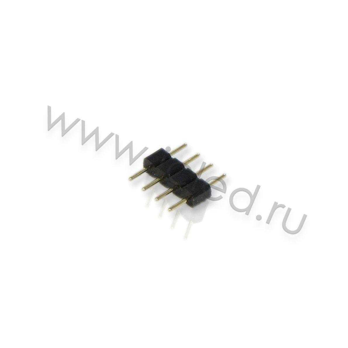 Коннектор переходник для подключения RGB ленты к контроллеру. 4PINx4PIN